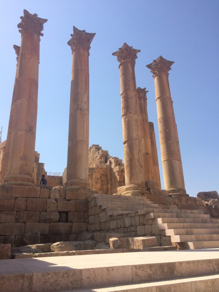 Temple of Artemis at Jerash (Photo by H. Birdi)